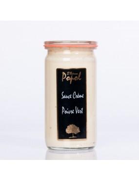 Sauce Crème Poivre vert 250 gr