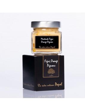 Moutarde Figue Orange Pignons 200 gr