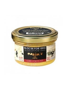 Bloc de foie gras d'oie 90 g